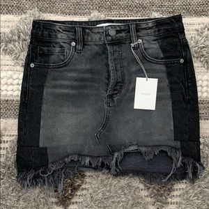 Hidden Denim Black Skirt Size XS